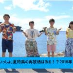 「おかあさんといっしょ」夏特集の再放送はある!?2018年8月放送!